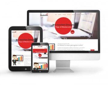 Webdesign und Logodesign Referenzen von iEvolution GmbH. Eine ...