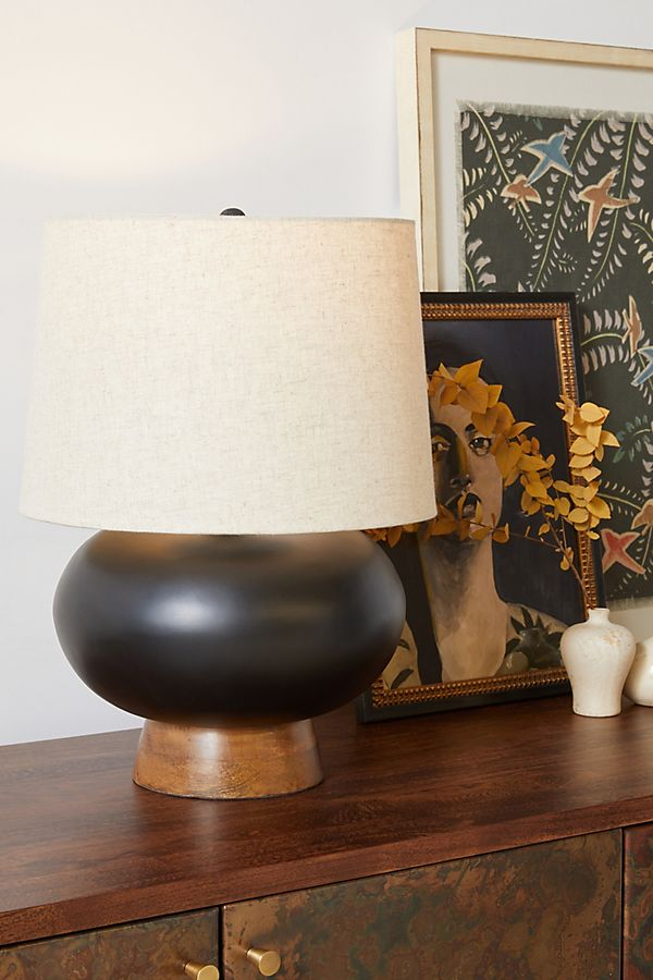 Cait Wooden Table Lamp In 2020 Wooden Table Lamps Table Lamp