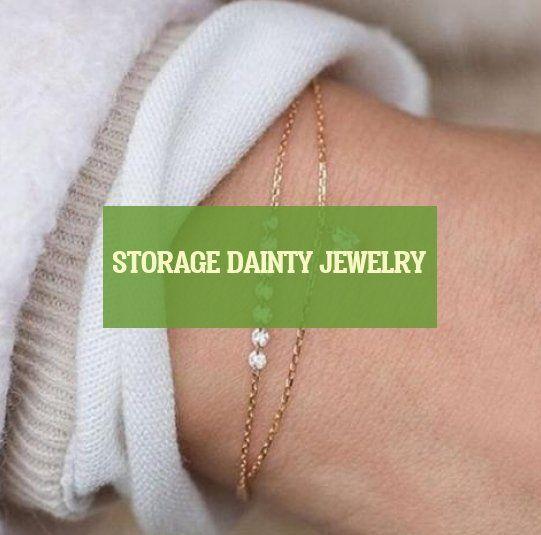Photo of Storage dainty jewelry * storage dainty jewelry * almacenamiento de joy … – …