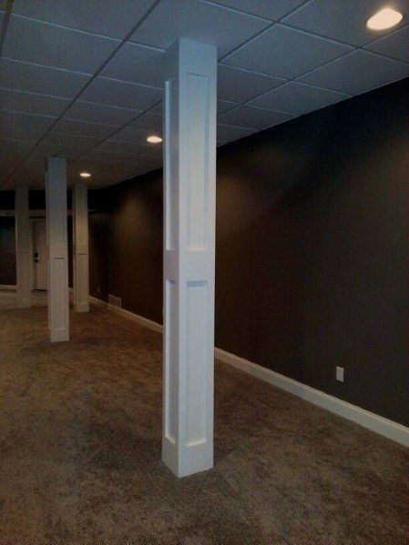 Photo of Top 50 Best Basement Pole Ideas – Downstairs Column Cover Designs