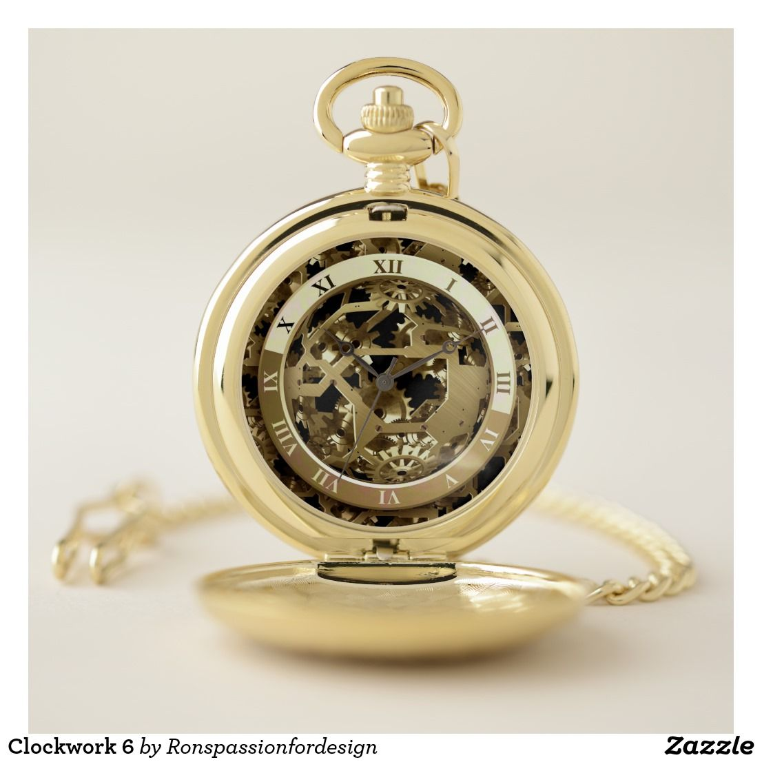 Clockwork 6 pocket watch Pocket watch