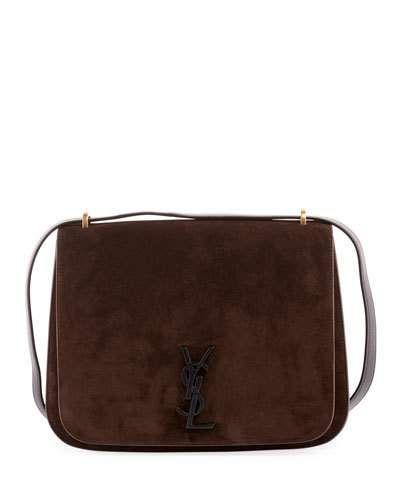 056892f5212 Saint Laurent Monogram YSL Spontini Medium Satchel Bag | Products ...