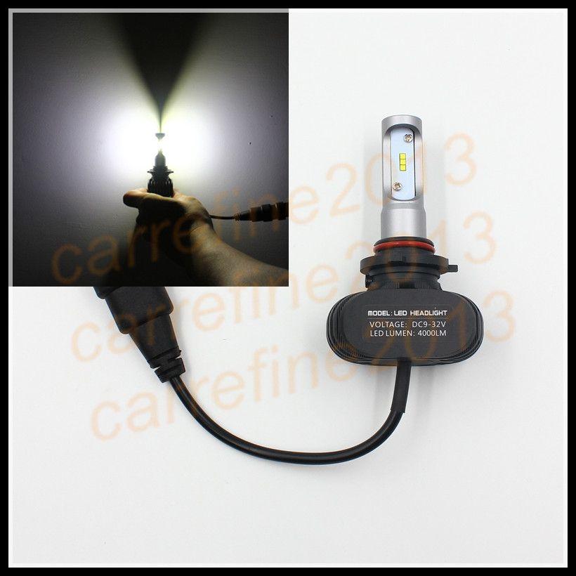 Hb4 9006 Led Headlight 50w 8000lumen Waterproof Hb4 9006 Led Headlight Bulb Auto Led Car Headlamp Bulbs 9006 Hb4 Conversion K Led Headlights Car Lights Car Led