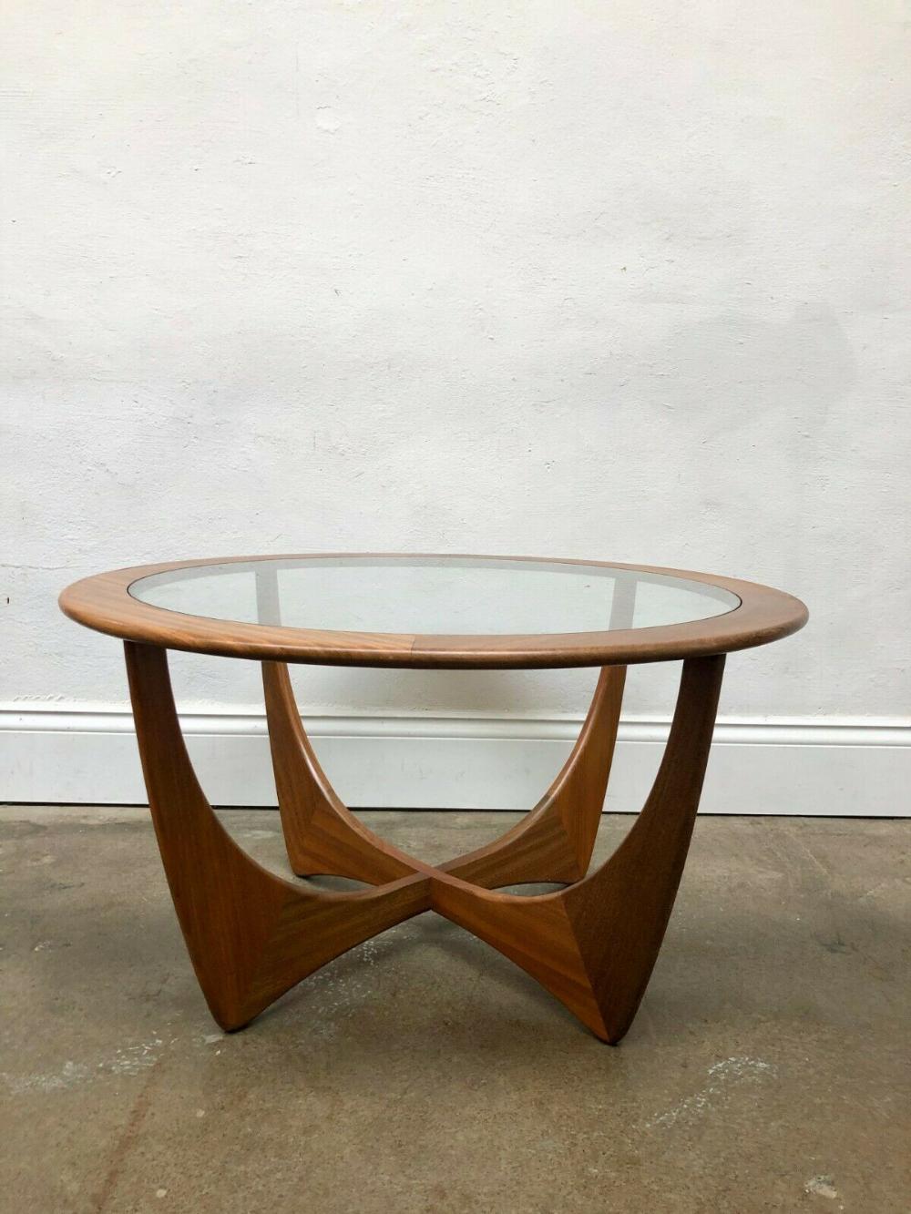 Vintage 1960s G Plan Round Astro Teak Coffee Table Danish Retro Mid Century Vinterior Teak Coffee Table Coffee Table Retro Mid Century [ 1333 x 1000 Pixel ]
