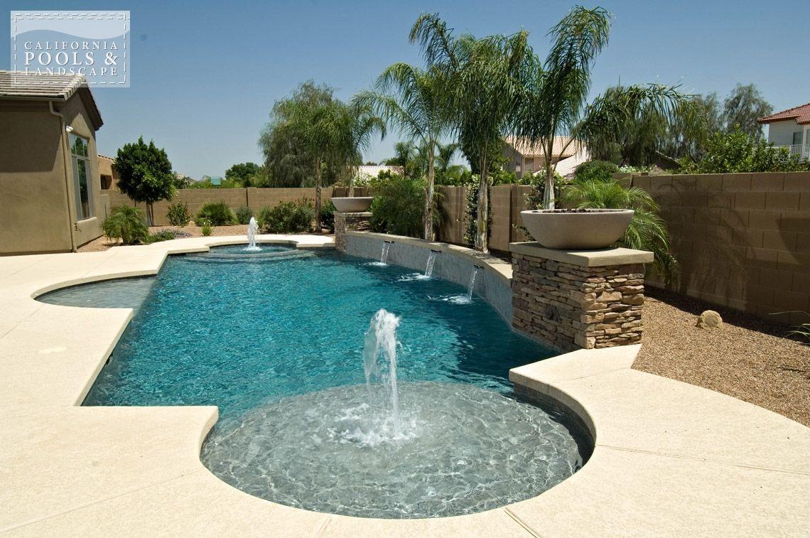 Pools • California Pools & Landscape - Pools • California Pools & Landscape Small Yard Pool & Landscape