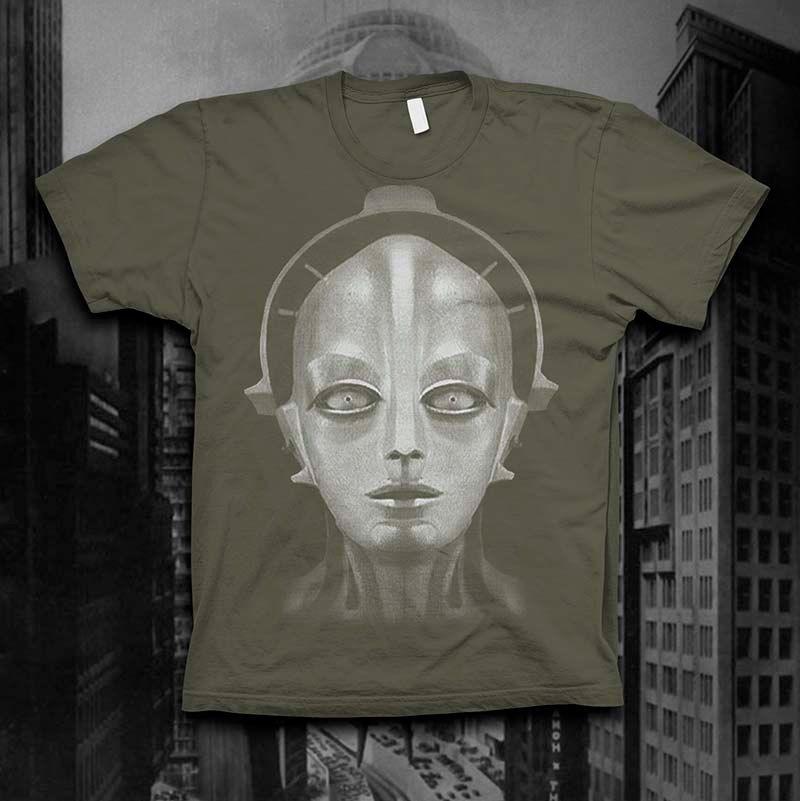 Metropolis Robot Shirt Mens Silent movie tshirt Maria Robot t shirt. $24.00, via Etsy.