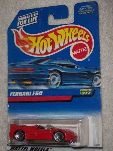 Hot Wheels 377 Ferrari F50 India Lace Wheels Collectible Collector Car Mattel 1 64 Scale By Mattel 2 99 Each P Mattel Hot Wheels Hot Wheels Collector Cars