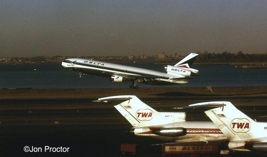 TWA 727 and Delta MD-11