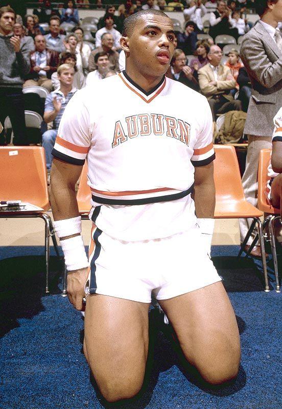 Charles Barkley Auburn Tigers Basketball Jersey
