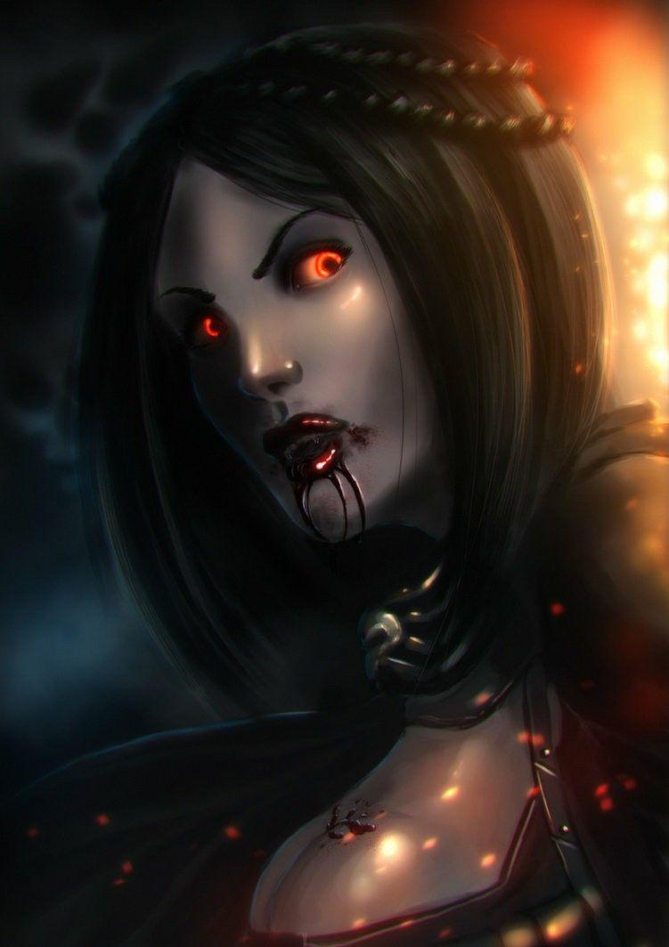 Dark Brotherhood Vampire Girl