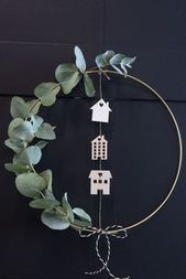 Photo of DIY – Make a wreath for the door