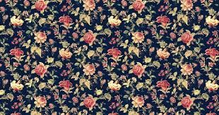 Black Floral Pattern Tumblr