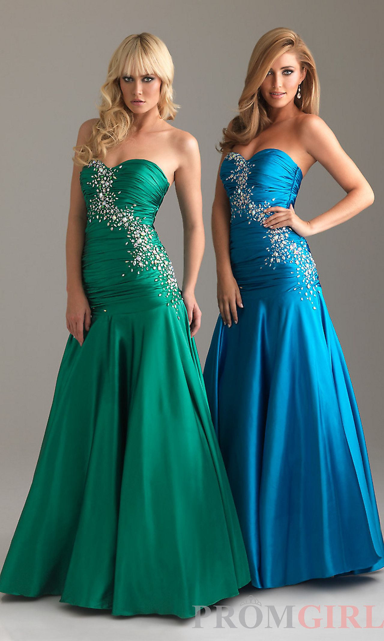 Strapless drop waist formal gown nm my fairytale day