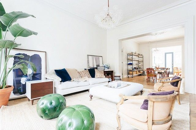 Tour an Amazing Brooklyn Townhouse That You Can Rent! | DomaineHome.com
