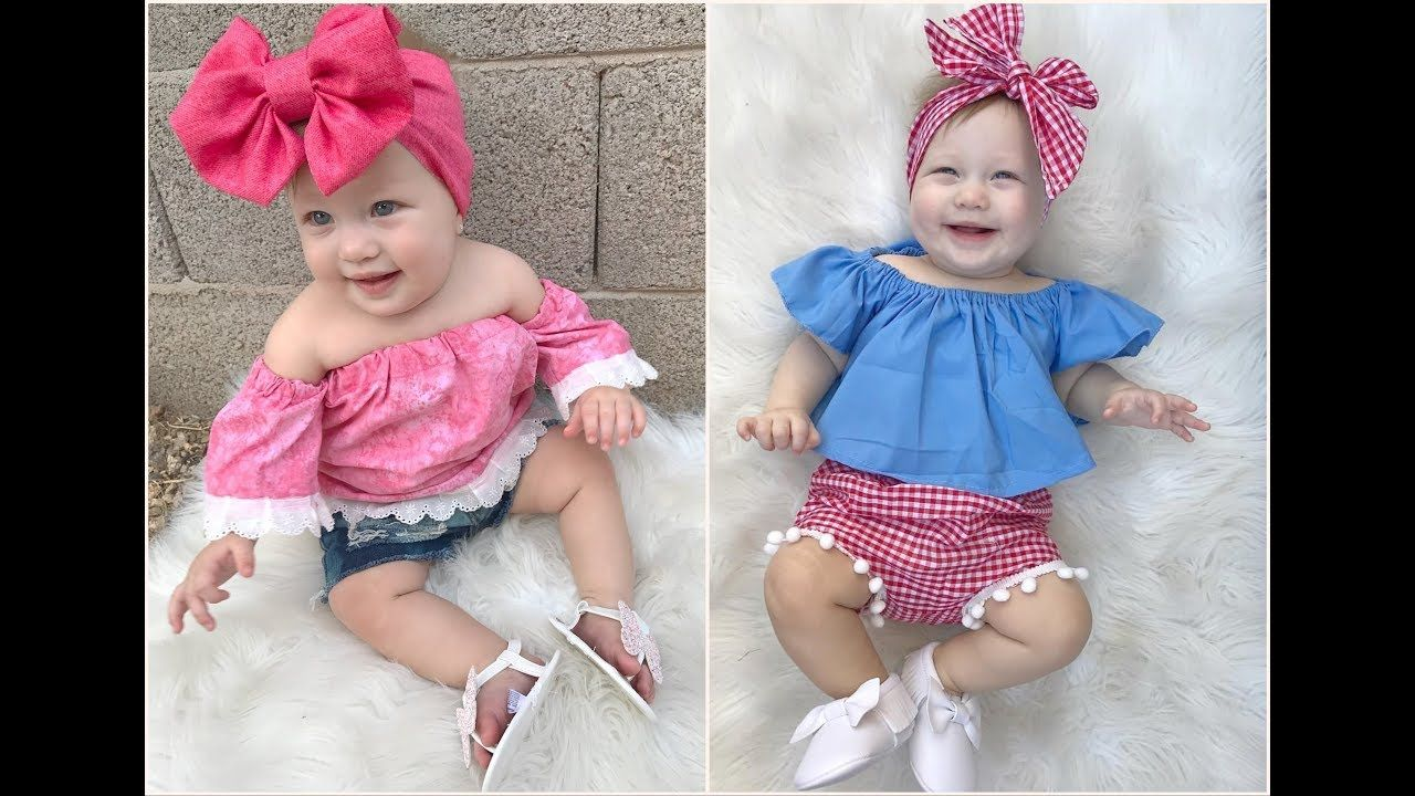Clothing Babyclothing Babyclothes Girls Clothing Girlsclothing Clothing2018 اجمل ملابس اطفال بنات اح Baby Jumpsuit Youtube Flower Girl Dresses