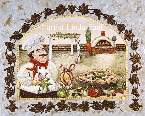 pin on fat chef kitchen décor on kitchen decor paintings prints id=48964