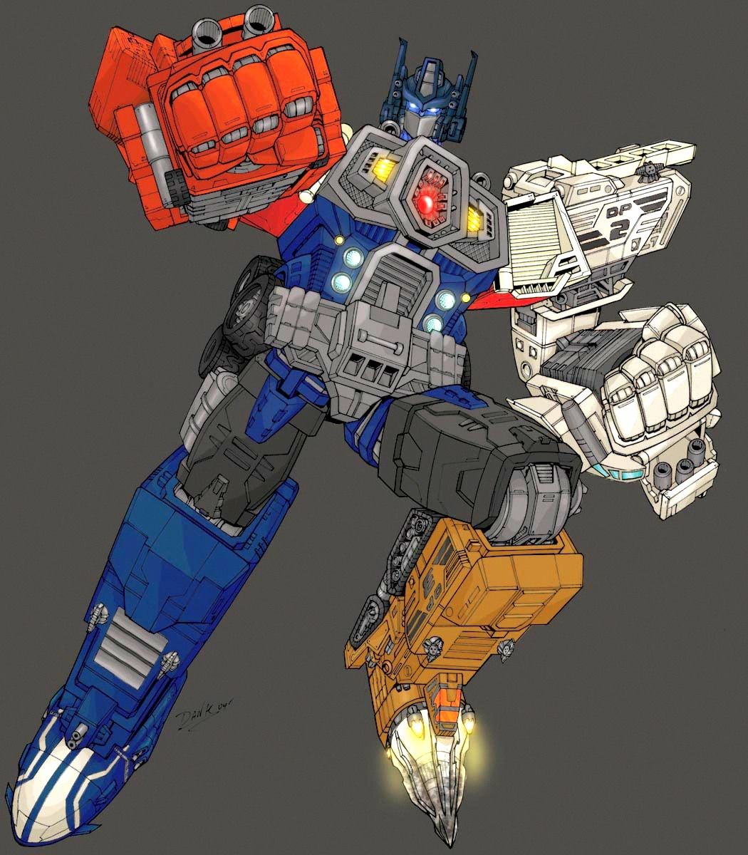Optimus Prime Super Mode (Transformers Energon 2) (With ...