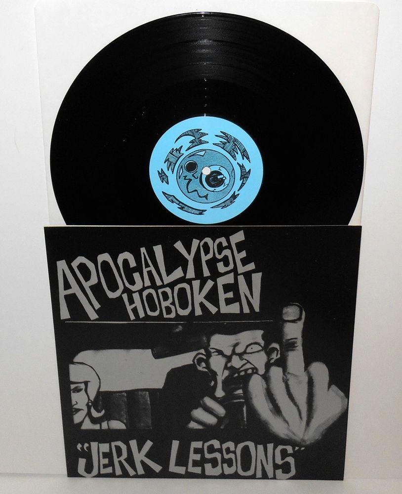 Apocalypse Hoboken Jerk Lessons 10 Vinyl Record Punkpunknewwave Vinyl Records