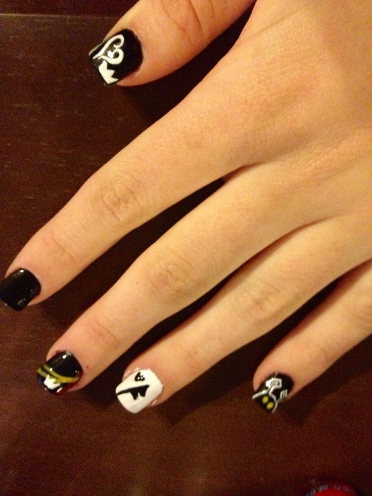 Kingdom Hearts Nails So Cute Ahh Heart 3 Gorgeous
