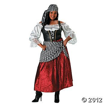 Pirate\u0027s Wench Adult Women\u0027s Costume pirates Pinterest Pirate - halloween costume ideas plus size