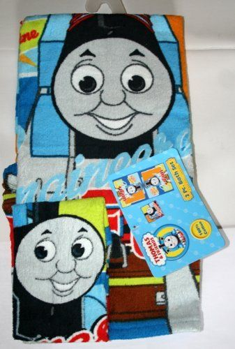 Thomas And Friends Towel With Washcloth Bath Set   2 Pieces By Thomas U0026  Friends