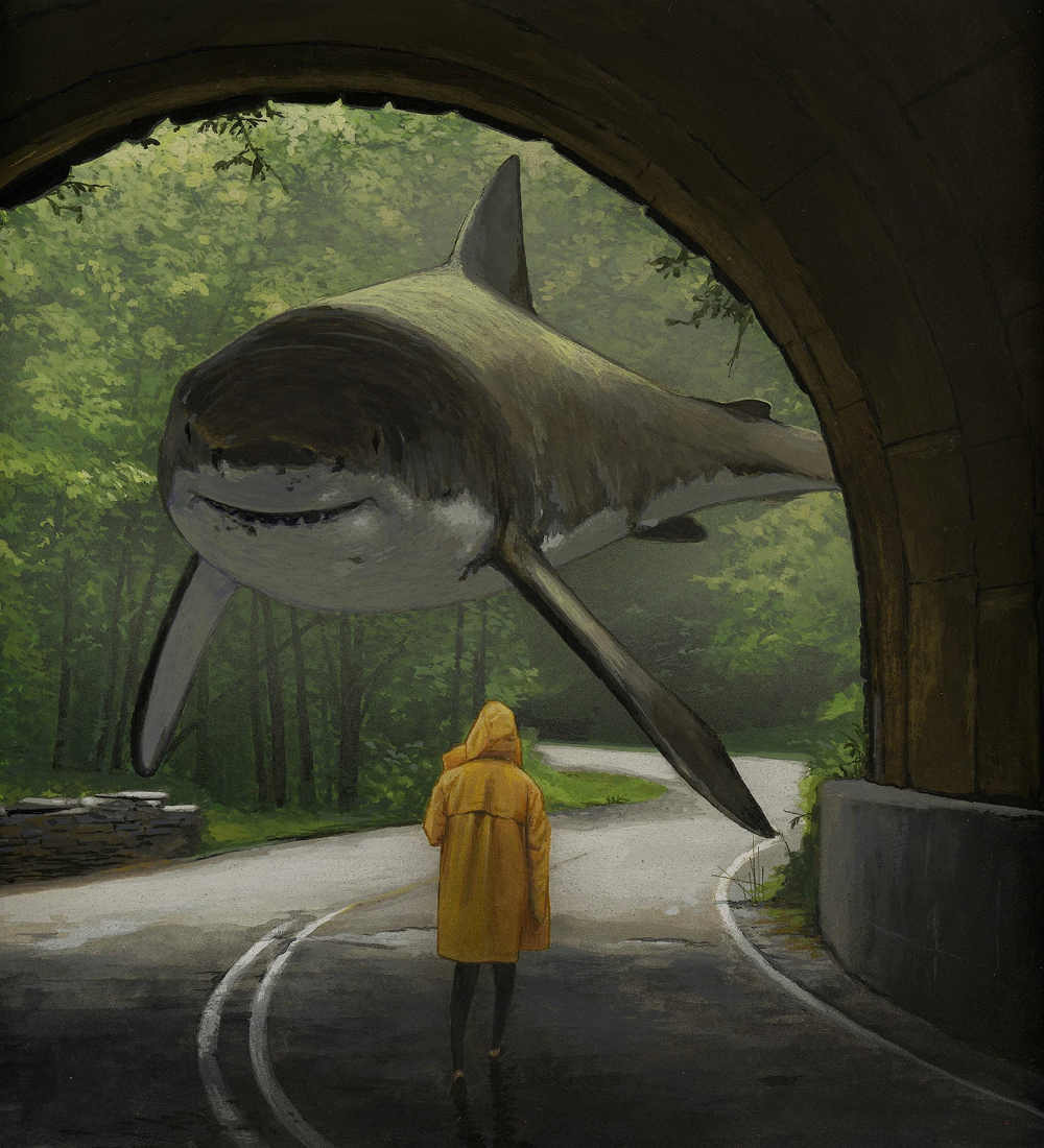 The Surreal Paintings of Chris Austin | Hi-Fructose Magazine