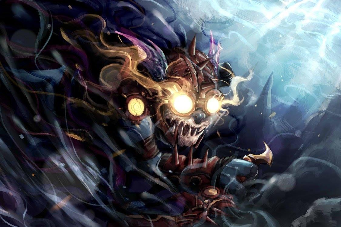 slark artwork by mike kenji artwork and fantasy art