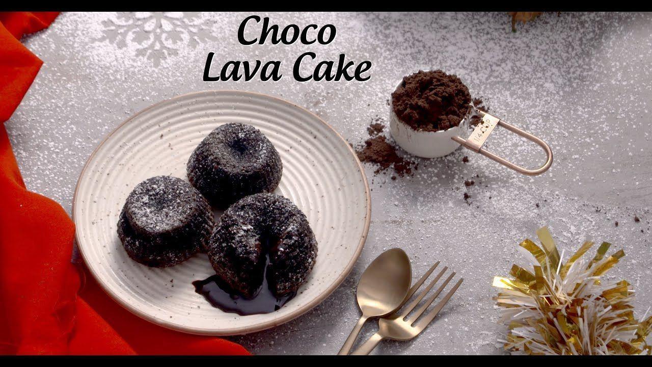 Eggless Choco Lava Cake Recipe Lava Cake Recipes Lava Cakes Choco Lava Cake Recipe