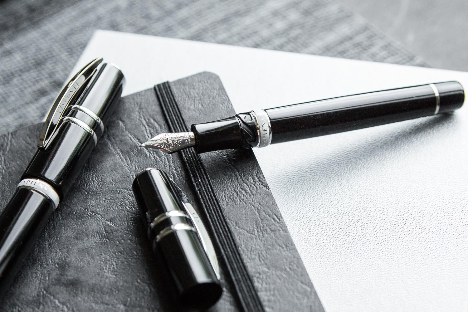 A classic fountain pen never goes out of style. Check out the Aurora Duo  Cart