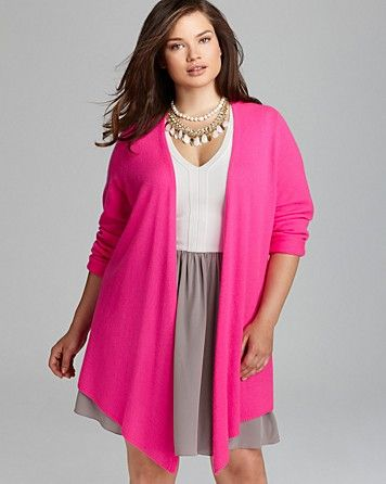 C by Bloomingdale's Plus Cashmere Basic Duster   Bloomingdale's