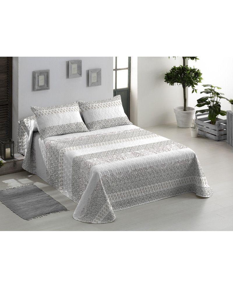 Bouti Yaren es perfecta para el entretiempo y cualquier tipo de dormitorio. Con estampado moderno en tono beige aportará luz al dormitorio. Envío en 24/48h