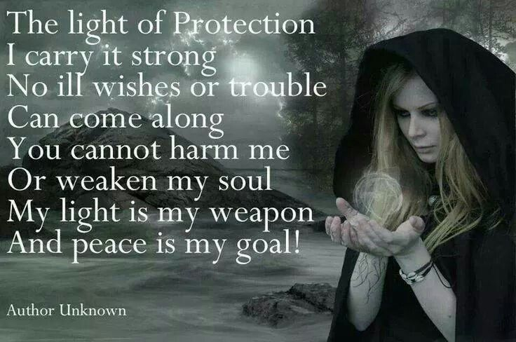 The Light of Protection #Wicca