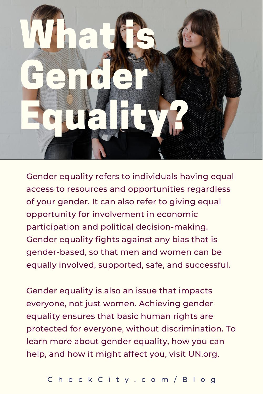 What Is Gender Equality What Is Gender Equality Gender Equality Quotes What Is Gender