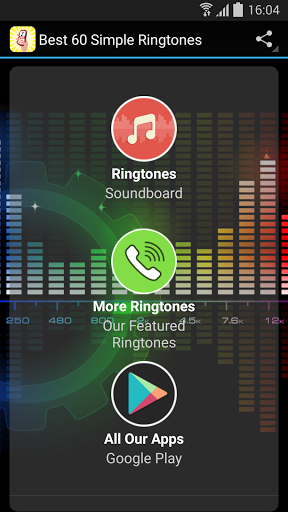 Discover the new premium collection of simple ringtones and notification sounds for your mobile device! Best 60 Simple Ringtones is a free, safe and fun to use app for the whole family.<p><b>Features:</b><br>- 60 HQ (high quality) sounds<br>- Set as ringtone, notification, or default alarm sound (tap and hold on the desired ringtone for the menu to show)<br>- Easy to use<br>- Compatible with 99% of devices<p>Enjoy! :)  http://Mobogenie.com