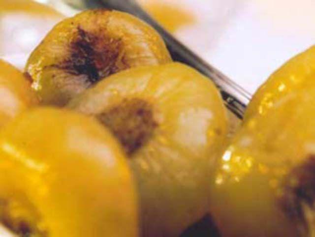 Cebolas marinadas
