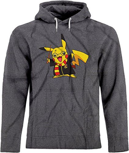 NEW Retro Pokemon Pikachu Squirtle Women/'s Size M Graphic Crew Neck Sweater Gray
