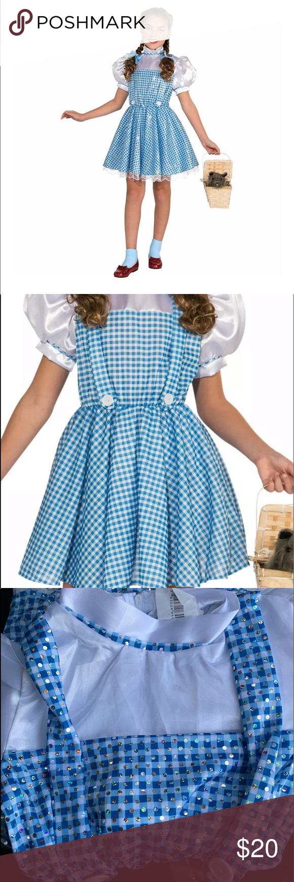 The Wizard Of Oz Dorothy Child Costume Small 4 6 Clothes Design Fashion Fashion Design