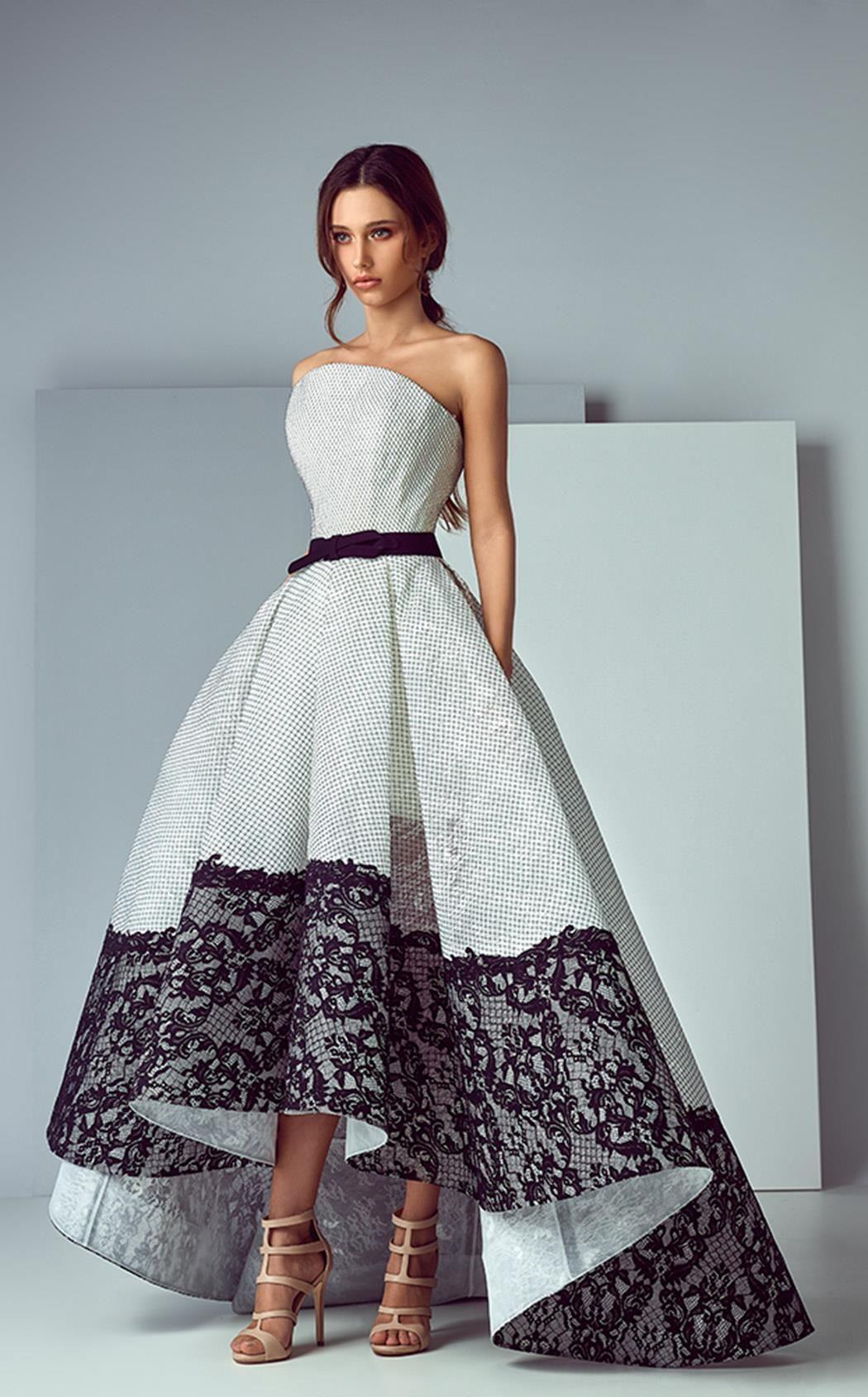 Невероятная женственность вечерние платья от saiid kobeisy