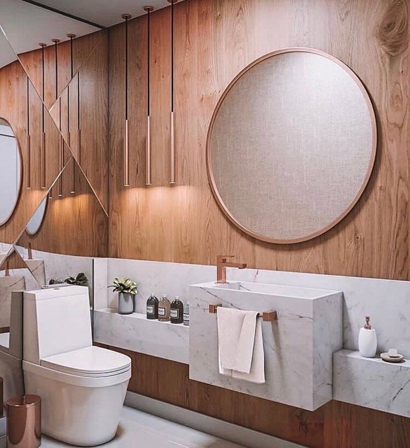 This One Looks So Extraordinary Love It What Do You Think Of These Lamps Toilet Design Bathroom Interior Design Modern Space Saving Toilet