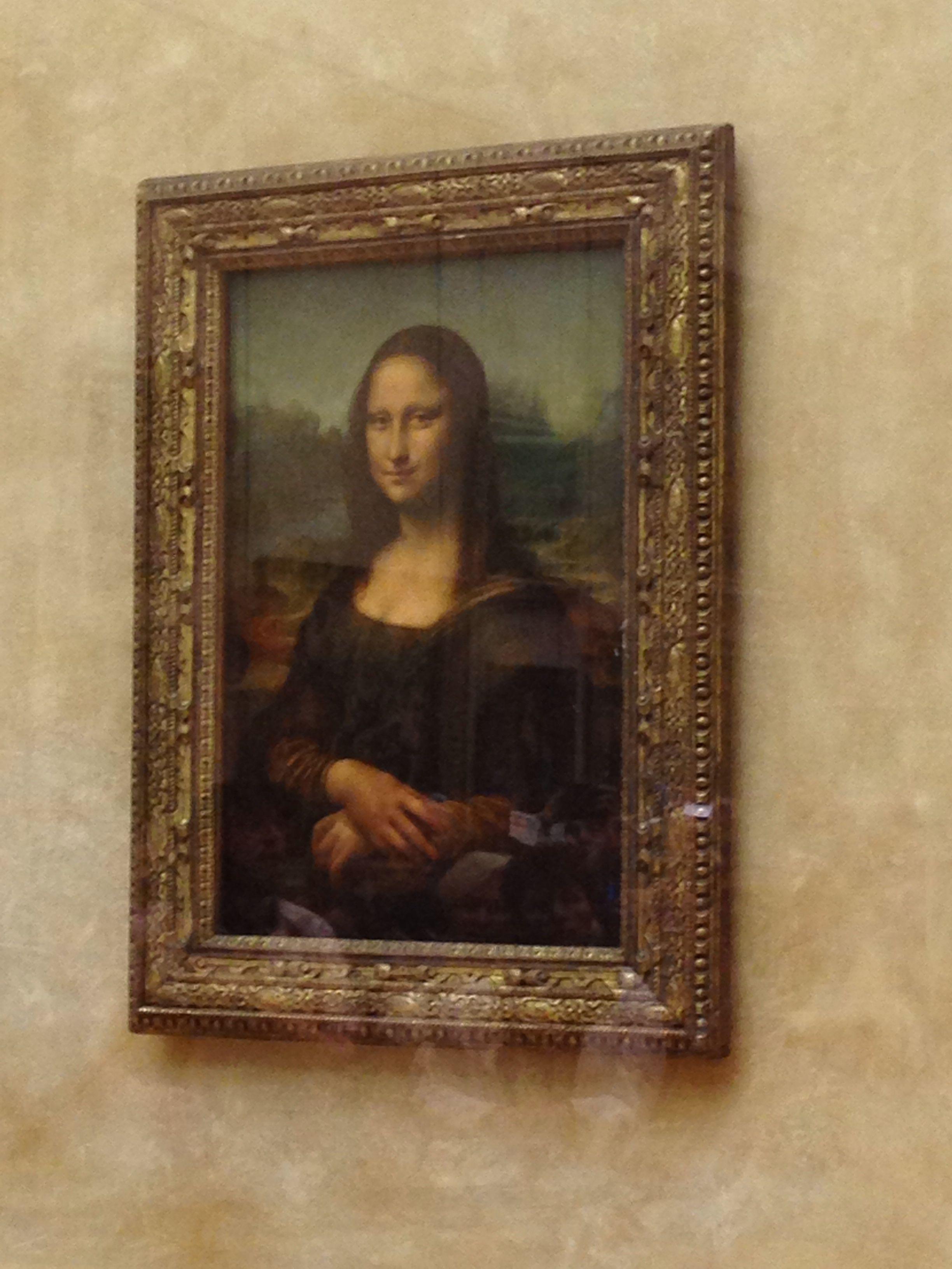 Monalisa The Louvre Museum Paris Louvre Museum Mona Lisa