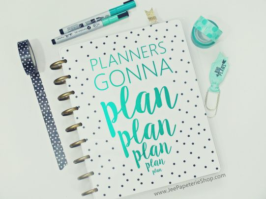 Diy Planner Jee Papeterie Planner Cover Happy Planner Cover Happy Planner