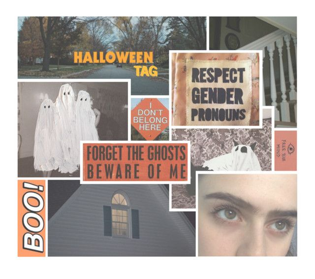 """""""HALLOWEEN TAG"""" by cottoncandyprince ❤ liked on Polyvore featuring art, Halloween, orange, indie and aesthetic"""