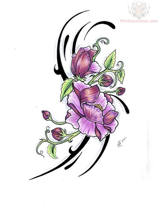 Flower Plant Tattoo Sample Tattoos/Ideas Flower tattoo designs
