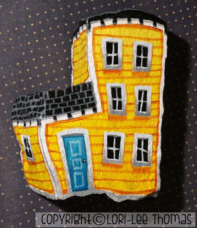 Painted Rocks - Lori-Lee Thomas - Fine Art & Illustration