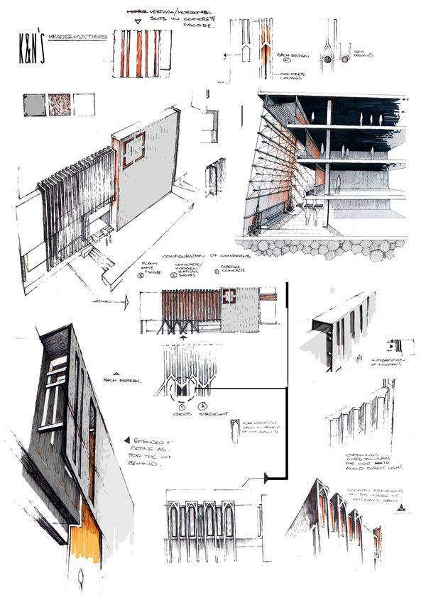 Ideas For Architecture Projects professional architecture portfolioanique azhar, via behance