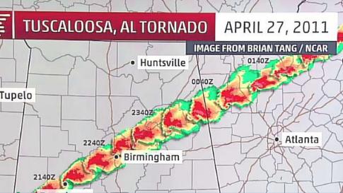 Tornadoes Strike Deep South; At Least EF3 Damage Confirmed