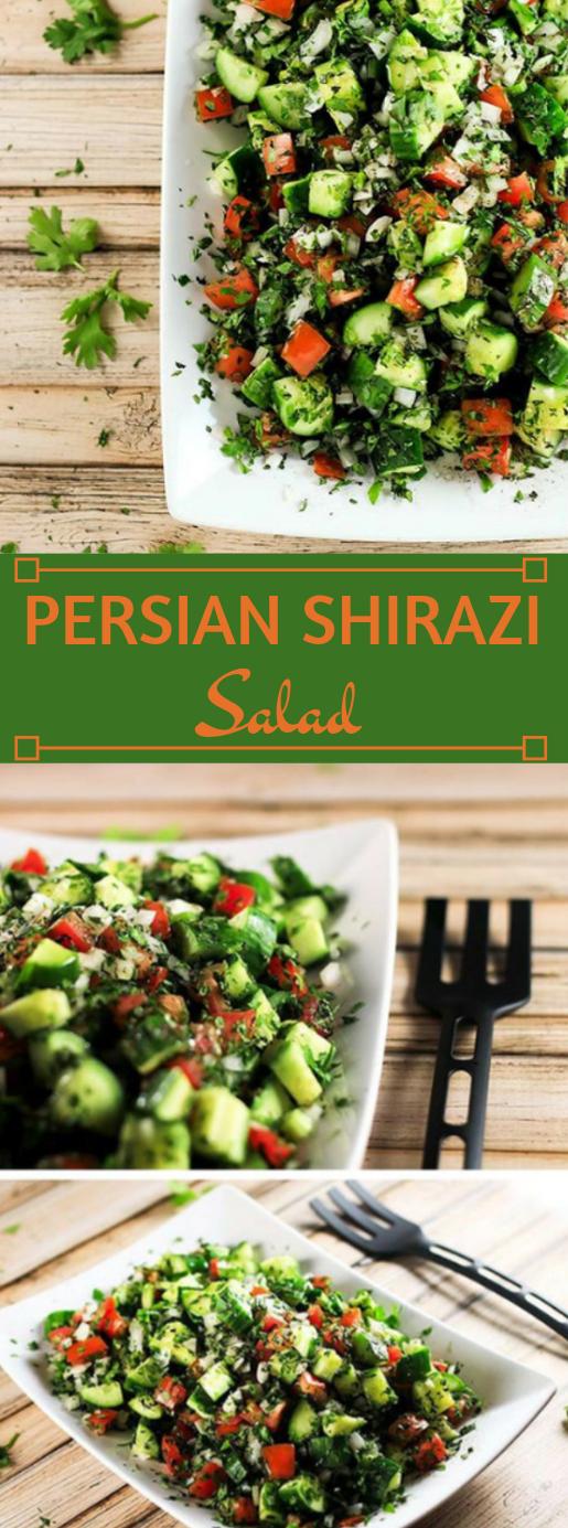 PERSIAN SHIRAZI SALAD #salad #diet #whole30 #healthyrecipes #food #insurancequotes