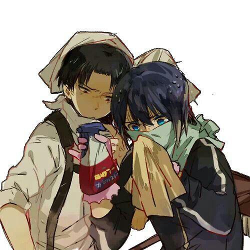 Levi and Yato #anime #manga