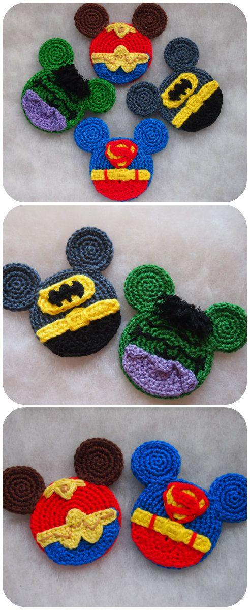 Batman, Hulk, Superman and Wonder Woman. pattern by Olga Tarasova ...