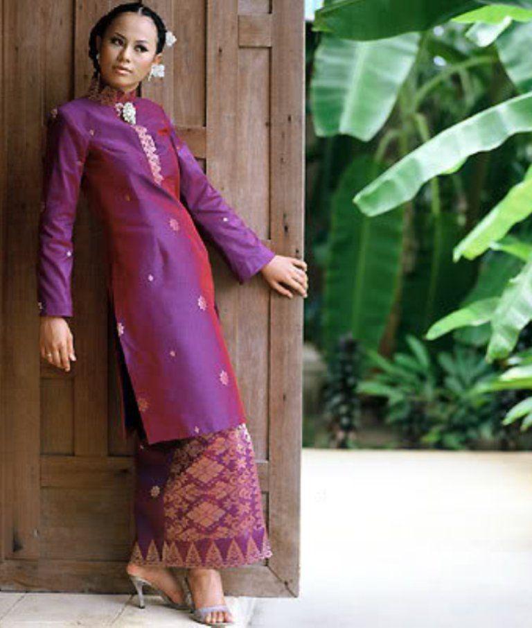 Songket Terengganu Malay Traditional Costume di 2020